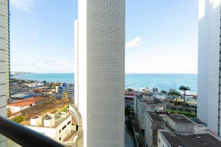 Apartamento duplo com vista mar de Ponta Negra por Carpediem