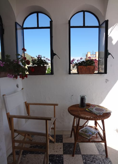 Torrione San Giovanni I - outdoor veranda