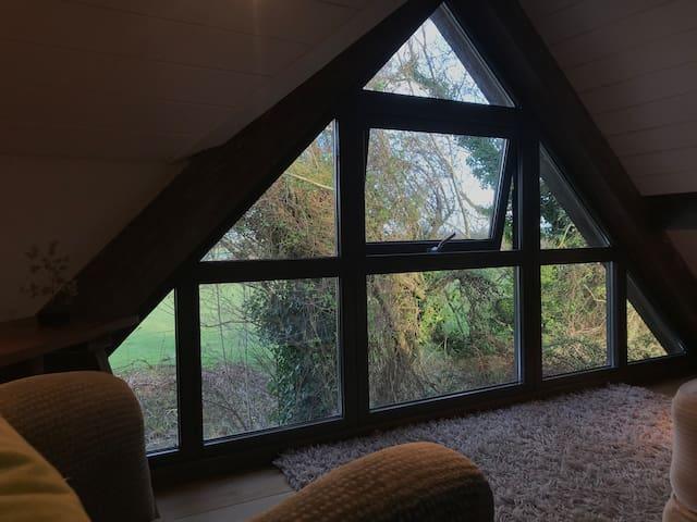 Tree House retreat on the Romney Marsh