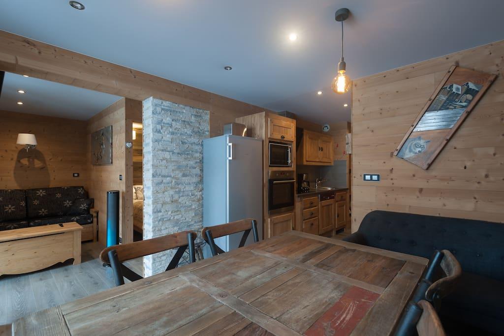 Val thorens appartement design 4 flocons or for Appartement design ski