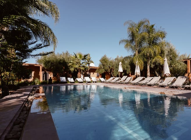 Villa in Marrakech with swimming pool & B&B