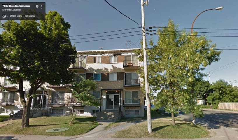 Petit appartement lumineux et calme - Montréal