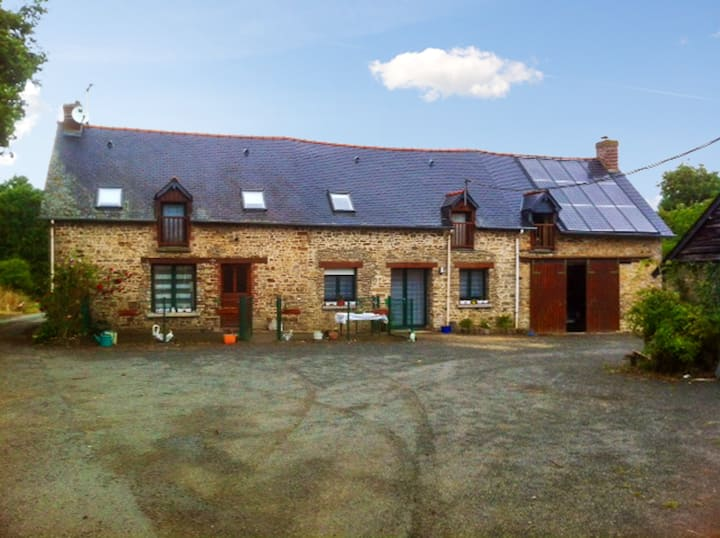 House with one bedroom in Bain-de-Bretagne, with furnished garden and WiFi - 109 km from the beach