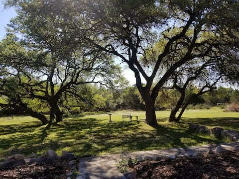 Natural Social Distancing with a Hill Country View