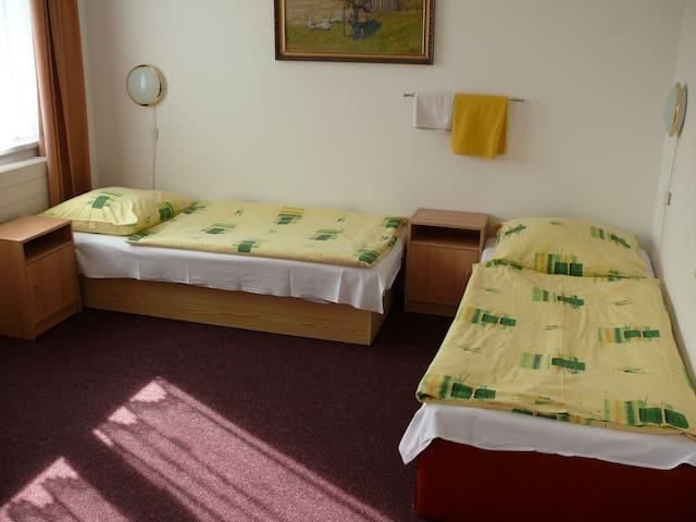 Room N4 with breakfast, parking, garden near metro - Praga - Bed & Breakfast