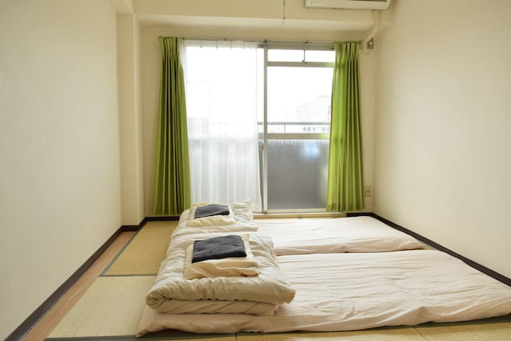 E4 New!KYOTO JapaneseTATAMI private pocket wifi - Nakagyo Ward, Kyoto - Appartement