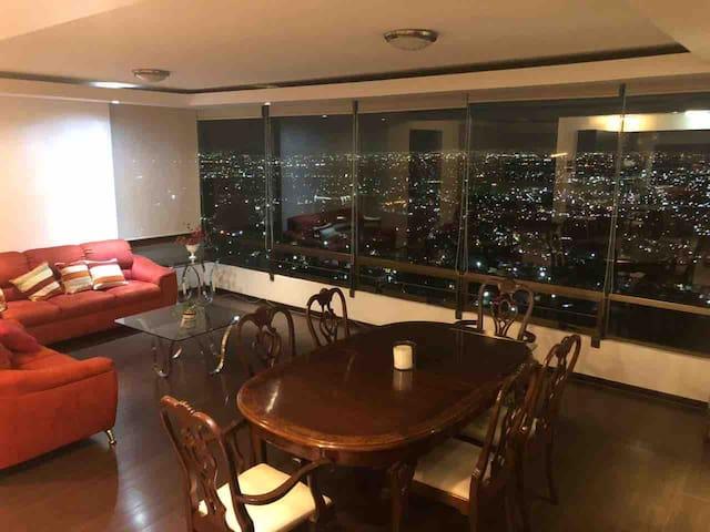 Vista espectacular en Ciudad de Mexico