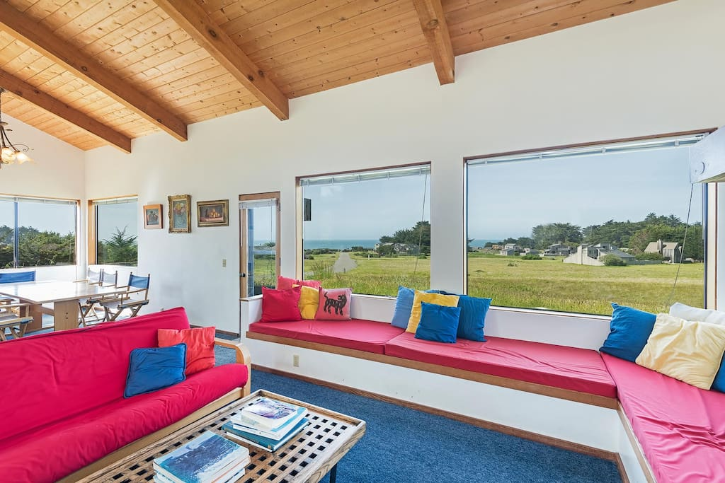 Living Room Seating with View