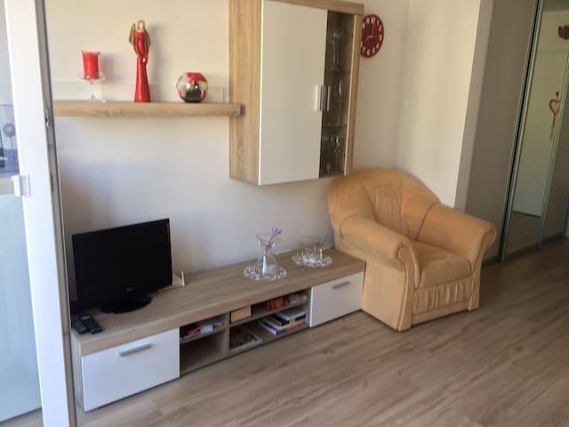 Rača byt s balkonom