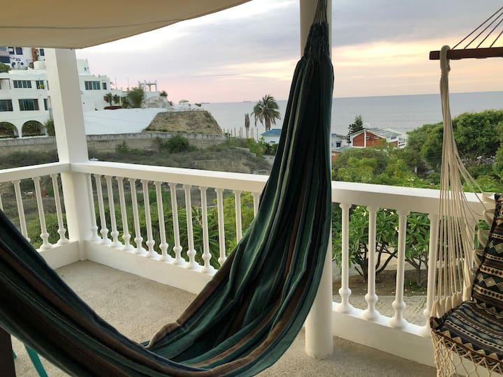 Appartement vue exceptionnelle sur mer