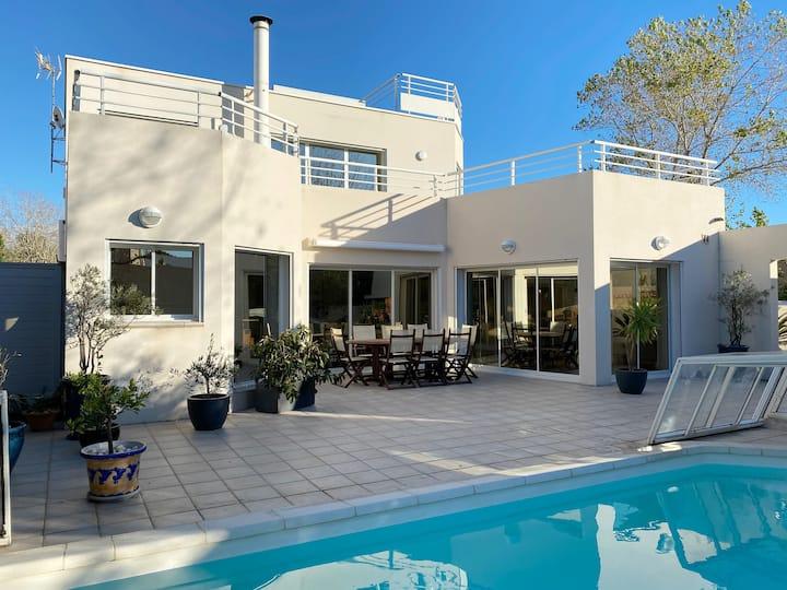 Villa avec piscine proche plage - Grand Travers