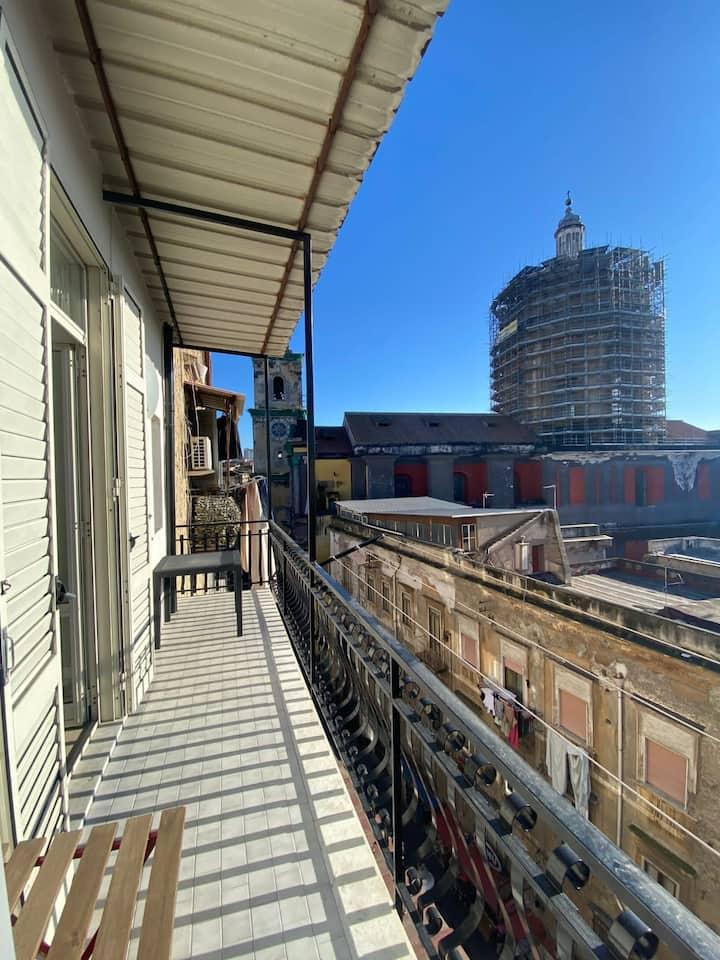 GRATIA PLENA 24 Top-Floor Apartment With Balcony