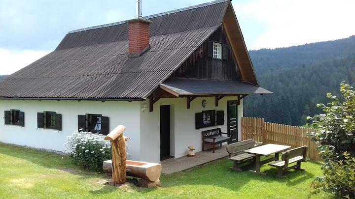 Ferienhaus im Grünen auf 1100m Seehöhe