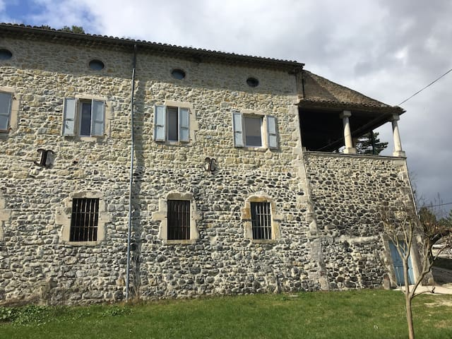 Ancien Moulinage de Soie de Mélas - Le TEIL - Casa
