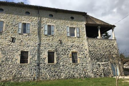 Ancien Moulinage de Soie de Mélas - Le TEIL - Ev