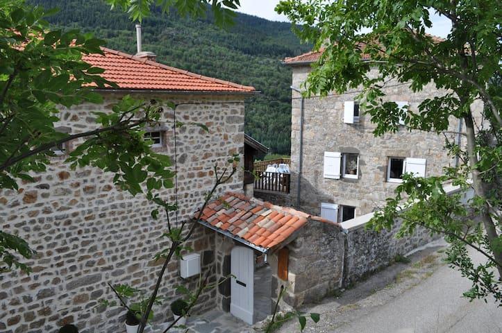 sérénité et nature dans un petit village d'Ardeche - Saint-Julien-Vocance - Apartamento