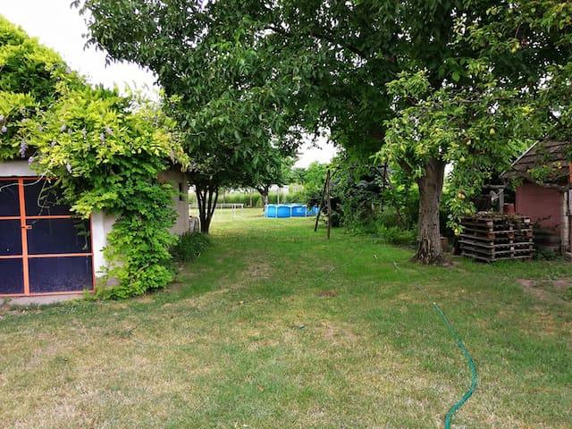 Családi ház nagy kerttel