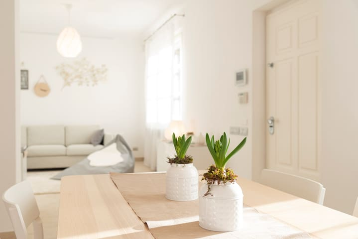 Relaxing flat for working guests near Milan