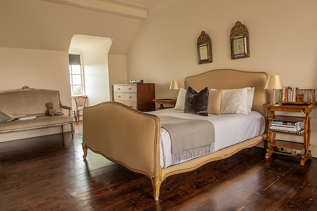 Master bedroom with ensuite and terrace