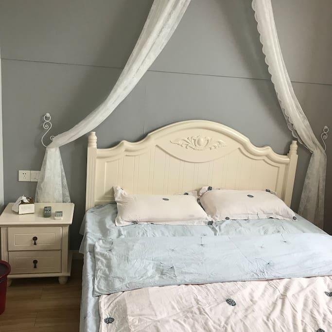 公主大床、浪漫温馨