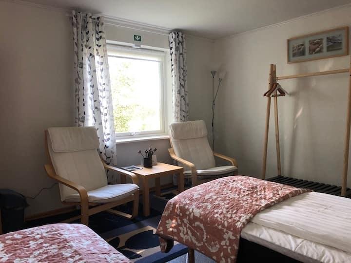 Tulipe rummet- Trevligt rum många faciliteter