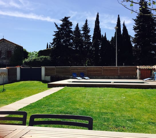 Superbe villa avec piscine - Lattes - Casa