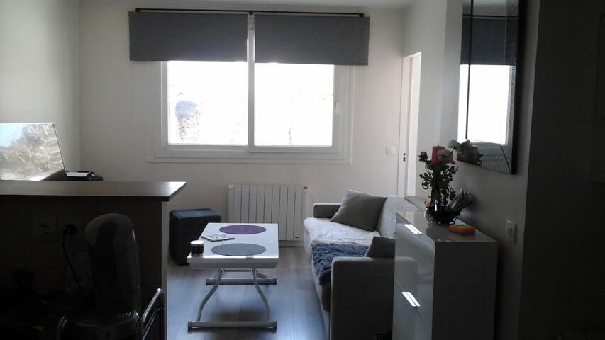 Logement confortable de 50m2 proche gare et paris