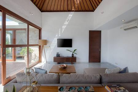 New stylish private villa with 2 bedrooms