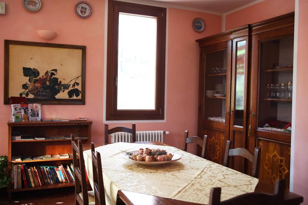 La sala colazione