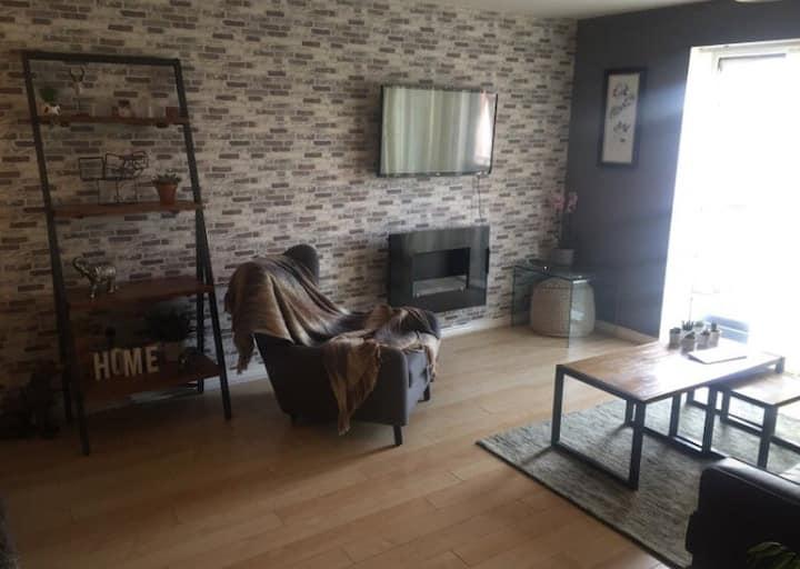 Room in spacious apartment