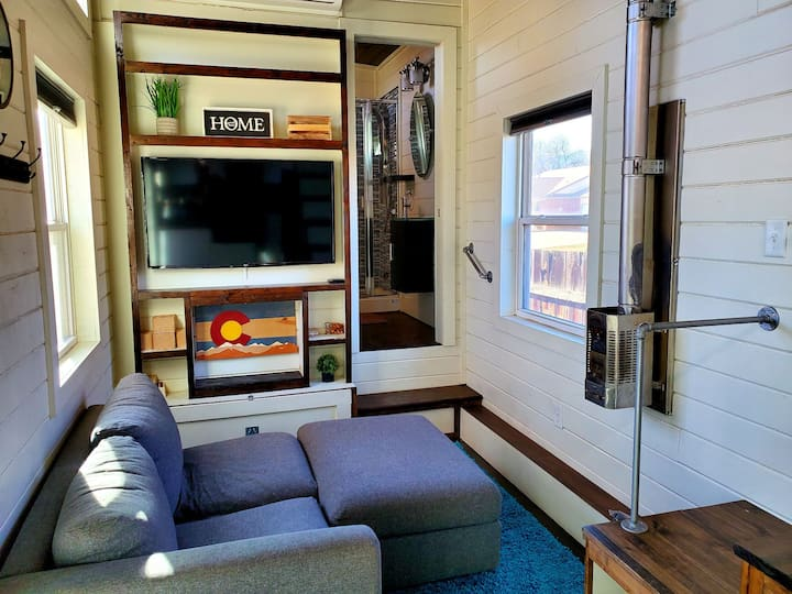 Tiny Home Living in Colorado Mountain Town