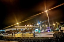 【原舍】中式风/高铁站汽车站对面50米/近黄淮学院/全景落地窗/原木慕斯睡眠大床