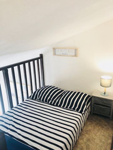 Mezzanine avec lit en 120