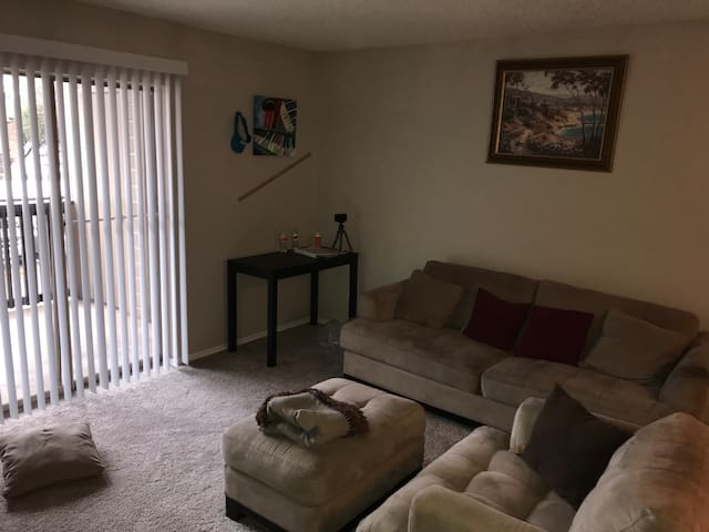 Cozy Condo 15 minutes from Downtown! Stores nearby