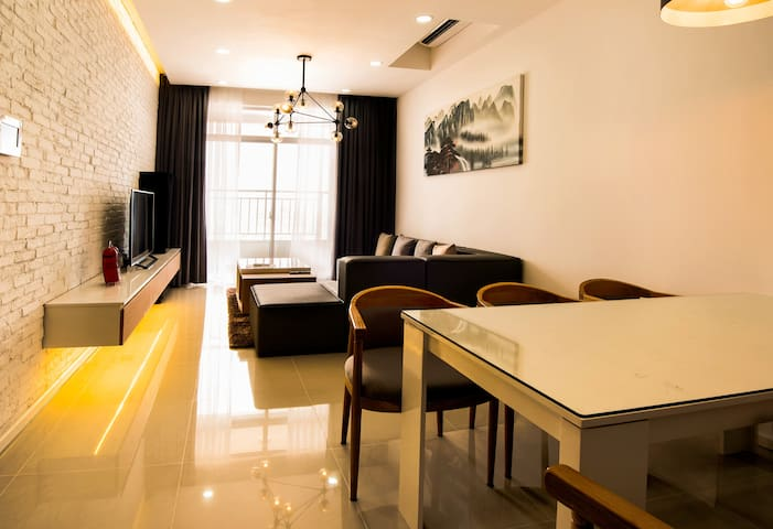 [TPR2] Modern, luxury apt @22nd fl in new building - Ho-Chi-Minh-Stadt - Wohnung