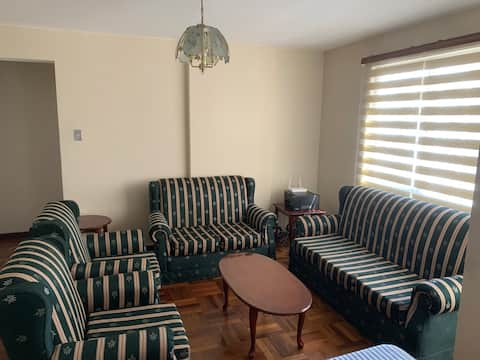 Comfortable apartment with ideal location