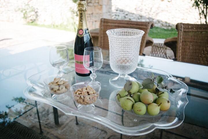 Masseria Silvestrini - Lamia Verde - Provincia di Brindisi - Villa