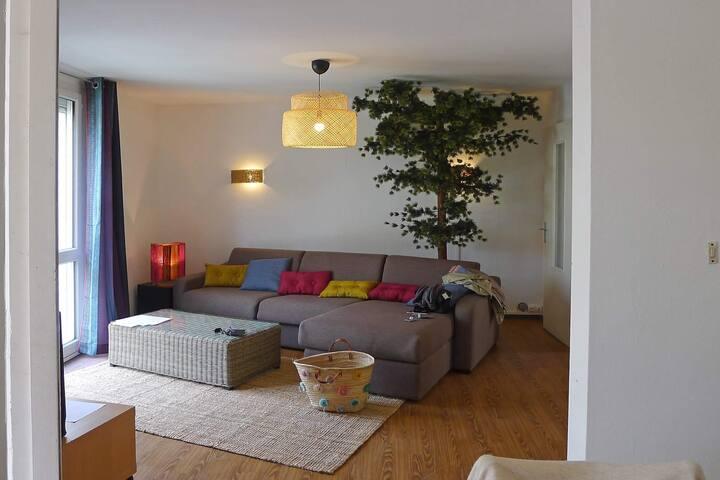 Appartement lumineux  3 chambres avec terrasse