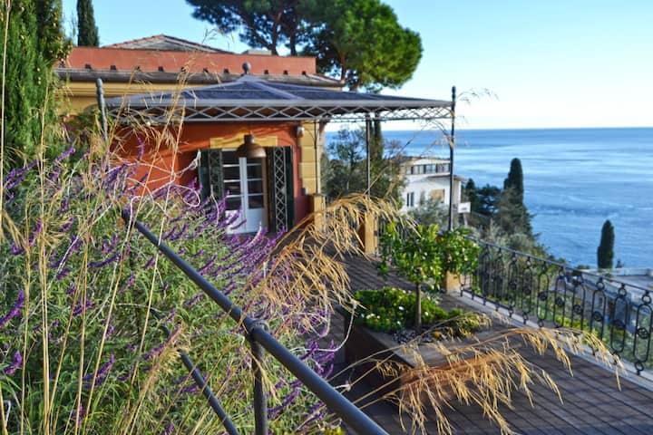 Room Viola with terrace in Villino Margot