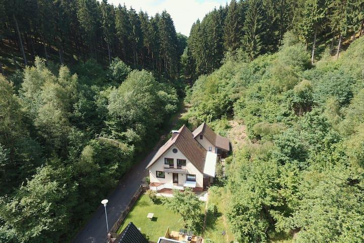 Maison de vacances dans l'Eifel hellenthal avec jardin