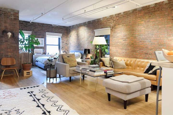 Williamsburg Exposed Brick Loft