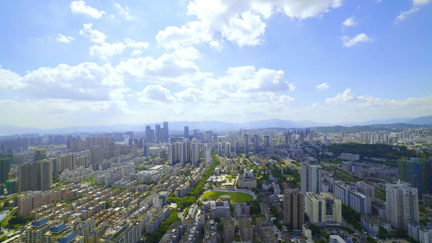 【驻家|Infinite】福州地标最高层建筑 |48楼以上  |下楼地铁口