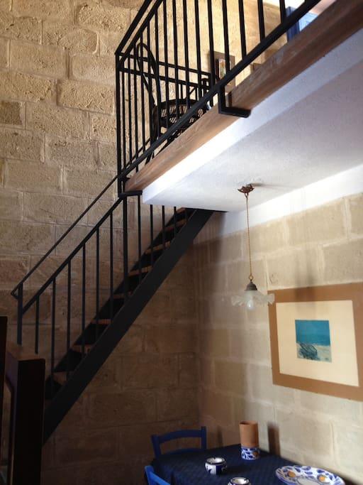 accesso a letto 1 e terrazzo 3