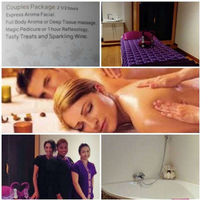 Special pampering package at a world class spa for couples who stay for at least 2 nights.