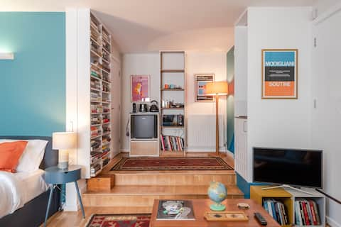 Gorgeous, spacious studio, Greenwich/Cutty Sark
