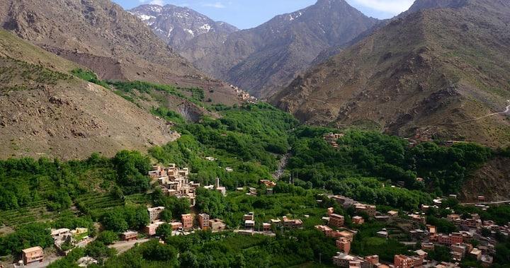 Marrakech Day trip to Atlas mountains & camel Ride