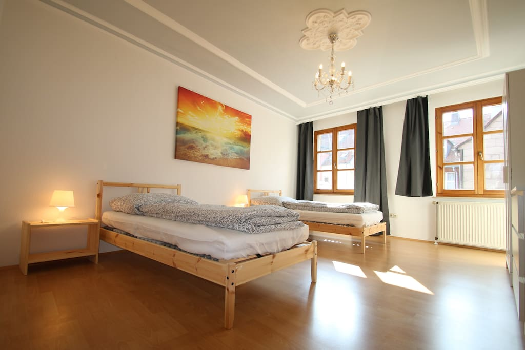 3 zi whg 75qm in f rths historischem zentrum departamentos en alquiler en f rth bayern alemania. Black Bedroom Furniture Sets. Home Design Ideas