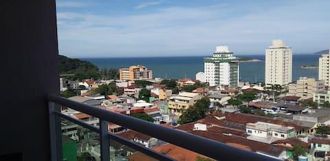 flat em Macaé vista da praia de Imbetiba.