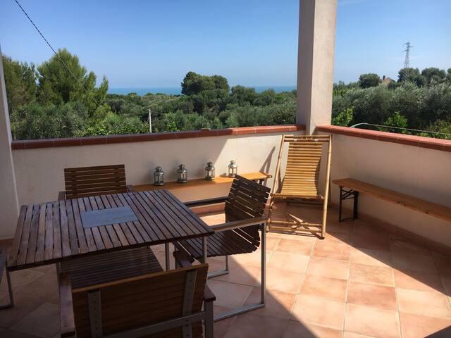 Puglia - Gargano: Appartamento vista mare