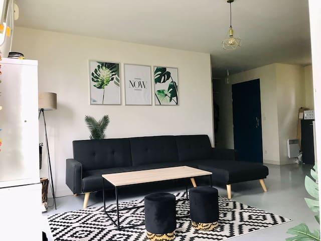 Appartement lumineux prêt du centre